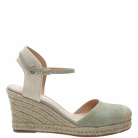 Espadrille Basic Suede Soft Mint | Arezzo