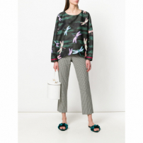 F.r.s For Restless Sleepers Blusa Estampada - Green