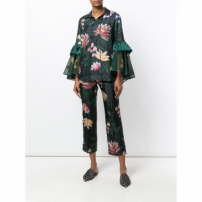F.r.s For Restless Sleepers Blusa Floral - Green