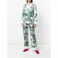 F.r.s For Restless Sleepers Calça 'etere Pajama' - Green
