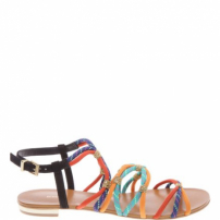 Flat Multi Stripe Colors | Schutz