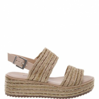 Flatform Double Stripe Coconut | Schutz