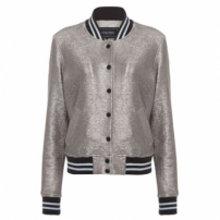 Jaqueta Bomber Moletom Shoulder