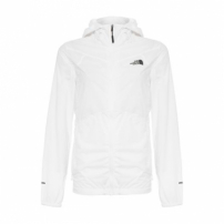 Jaqueta Flyweight Hoodie The North Face - Branco