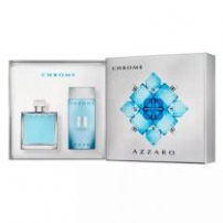 Kit Azzaro Chrome Masculino Eau De Toilette
