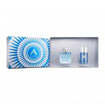 Kit Coffret Azzaro Chrome Masculino Eau de Toilette 50 ml + Desodorante 75ml
