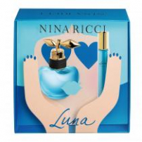 Kit Coffret Nina Ricci Luna Feminino Eau De Toilette 50Ml + Roll On 10Ml