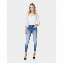 Lez A Lez - Calça Cropped Belize Esthetic Care Jeans