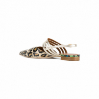 Malone Souliers By Roy Luwolt Sapato Mule De Couro - Marrom