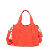 Mini Bolsa Creska Laranja Sunburnt Orange Kipling