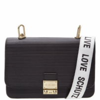 Mini Crossbody Live Love Black | Schutz