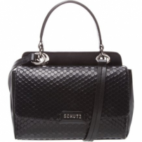 Mini Crossbody Stacy Bright Snake Black | Schutz