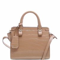 Mini Tote Nicole Croco Neutral | Schutz