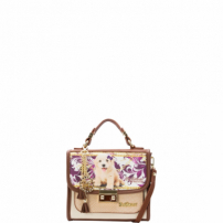 Minibolsa Be Forever Classic Poodle Creme
