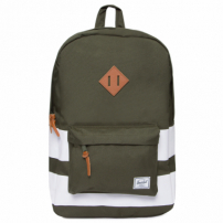 Mochila Heritage Forest Night Rugby Stripe - Verde