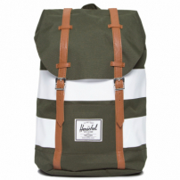 Mochila Retreat Forest Night Rugby Stripe - Azul