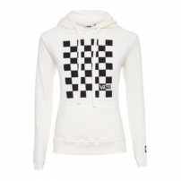 Moletom Check Box Hoodie Vans - Off White