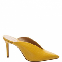 Mule Cava Croco Yellow | Schutz
