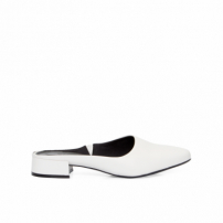 Mule Feminino Salto Nature - Off White