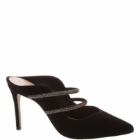 Mule Mary Jane Glam Black | Schutz