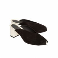 Mule Turbante Black Lilly Sarti