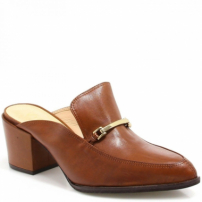 Mule Vicenza Loafer Em Couro