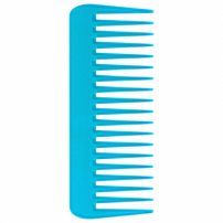 Color Comb Wide Azul - Pente