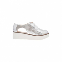 Oxford Flatform Cut Out Specchio Schutz - Prata