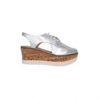 Oxford Flatform Spechio Other Schutz - Prata