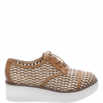 Oxford Flatform Tressê Neutral | Schutz