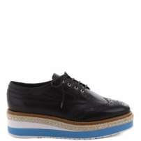Oxford Plataforma Color Preto | Arezzo