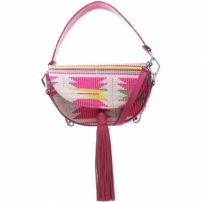 Saddle Bag Print Neon Pink | Schutz