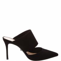 Quereda Mule Medium Black Nobuck | Schutz