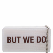 Quote Clutch White | Schutz