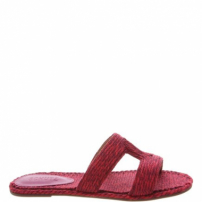 Rasteira Slide Bordada Red | Schutz