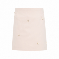 Saia Shorts Infantil - Off White