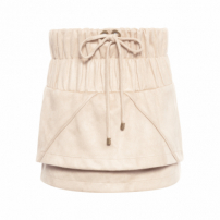 Saia Suede Lucy - Bege