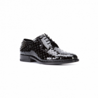 Saint Laurent Oxford Envernizado - Preto