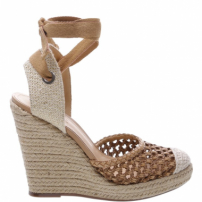 Sandália Anabela Trama Natural Neutral | Schutz