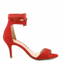 Sandália Ballerina Lace Up Red | Schutz