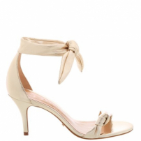 Sandália Lace Up Gold | Schutz