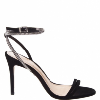 Sandália Party Strings Glam Black | Schutz