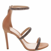 Sandália Salto Fancy Straps Neutral | Schutz