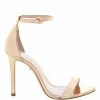 Sandália Single Stiletto Platina | Schutz