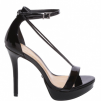 Sandália Thin Strap Stiletto Black | Schutz
