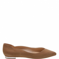Sapatilha Curves Nobuck Neutral | Schutz