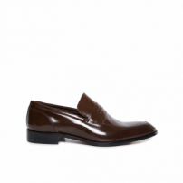 Sapato Clássico Penny Loafer - Marrom