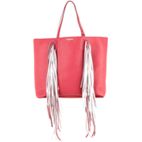 Sara Battaglia Bolsa Tote 'everyday Fringed' De Couro - 883