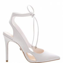 Scarpin Lace-Up White | Schutz