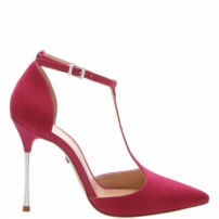 Scarpin Pin Heel Mary Jane Red | Schutz